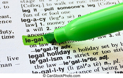 Legal  Defined