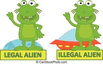 Illegal alien Vector Clip Art EPS Images. 96 Illegal alien ...