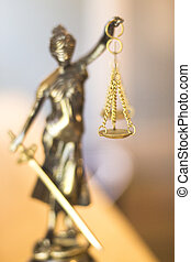 Legal law firm statue