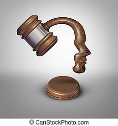 Legal Mind Thinking - Legal mind law thinking concept and...