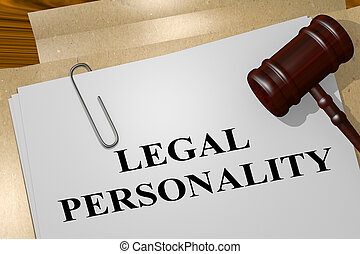 LEGAL PERSONALITY concept