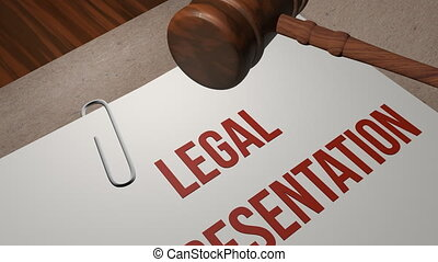 legal representation legal concept shot clip