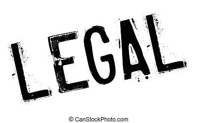 Legal stamp rubber grunge