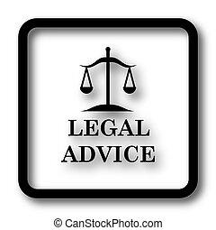legale, consiglio, icona