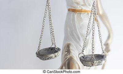 legale, legge, statua, ditta, themis