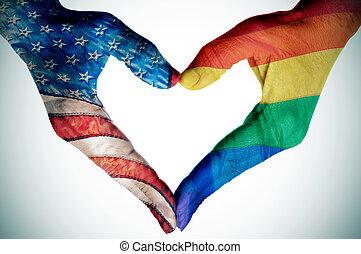 legalization, de, el, same-sex, matrimonio, en, los estados...