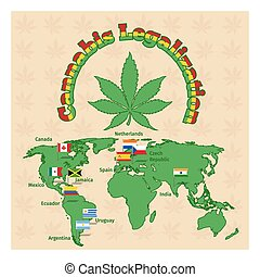 Legalization of marijuana or cannabis legalize