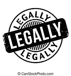 Legally rubber stamp. Grunge design with dust scratches. ...