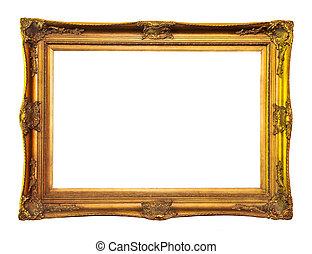 lege schilderstuk vensterraam