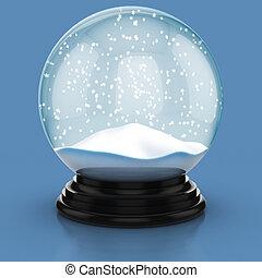 lege, sneeuwkoepel