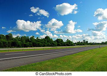 lege, snelweg
