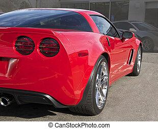Legendary High- Performance Sports Car