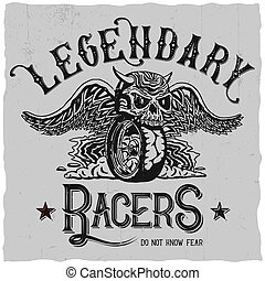 Legendary Racers Poster