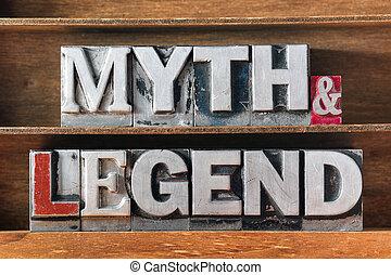 legende, mythos