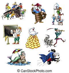 Legends and fairy tales 1 - Legends and fairy tales