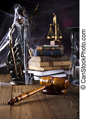legge, e, giustizia, concetto, legale, codice