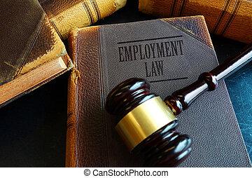 legge, occupazione, libro