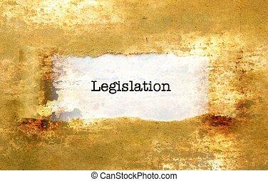 Legislation text no wall