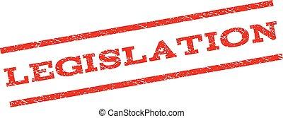 Legislation Watermark Stamp