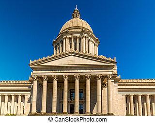 Legislative Building In Olympia Washington