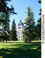 The Legislative Assembly of Saskatchewan in Regina city