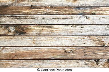 legno, asse, fondo, struttura