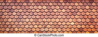 legno, assicella di copertura, fondo