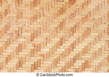 legno, bambù, struttura, fondo, tessere