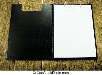 legno, bianco, carta, fondo