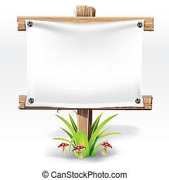 legno, carta, segno