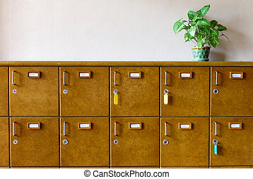 legno, cassetto, scarpe, custodire