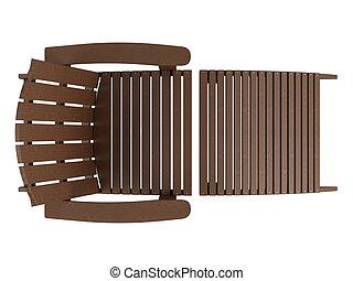 legno, chaise oziano
