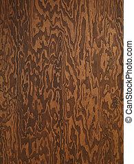 legno compensato, struttura