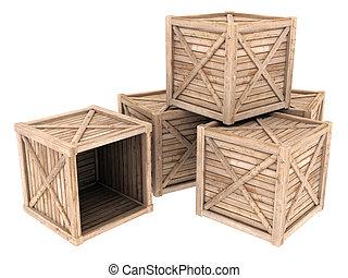 legno, contenitore