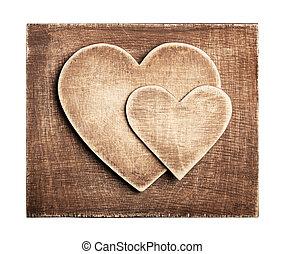 legno, cuore