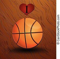legno duro, corte pallacanestro, pavimento
