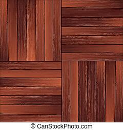 legno duro, vendemmia, pavimento, modello