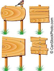 legno, elementi