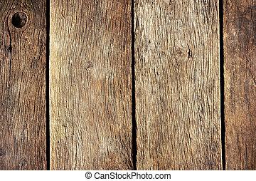 legno, fesso, vecchio, fondo