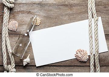 legno, foglio, fondo, alterato, sgusciare, carta, corda, bottiglia, vuoto