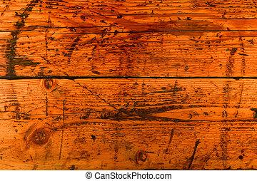 legno, fondo, asse, afflitto
