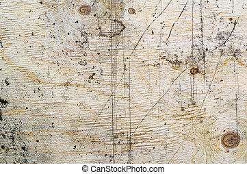 legno, fondo., grunge, superficie, struttura