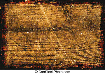 legno, fondo, textured