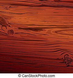 legno, fondo, vettore