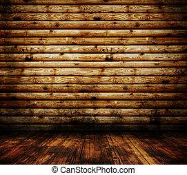 legno, grunge, pavimento