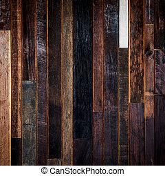 legno, grunge, struttura, fondo