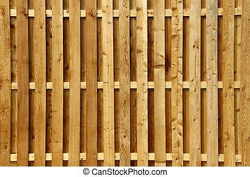 legno, intimità, recinto