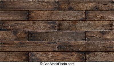 legno, invecchiato, seamless, fondo