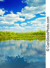 legno, lago
