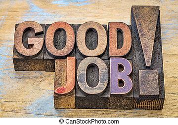 legno, lavoro, buono, tipo, complimento
